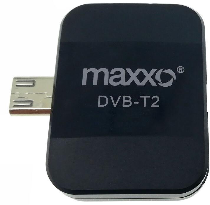 Maxxo DVB-T2 HEVC/H.265 Mobilní HD TV tuner
