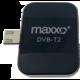 Maxxo DVB-T2 HEVC/H.265 Mobilní HD TV tuner  + O2 TV s balíčky HBO a Sport Pack na 2 měsíce (max. 1x na objednávku)