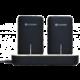 Platinet Powerbank 2x 5000 mAh + dokovací stanice, černá