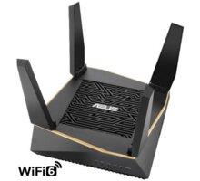 ASUS RT-AX92U, AX6100, Tri-Band Gigabit Aimesh Router - 90IG04P0-MO3010