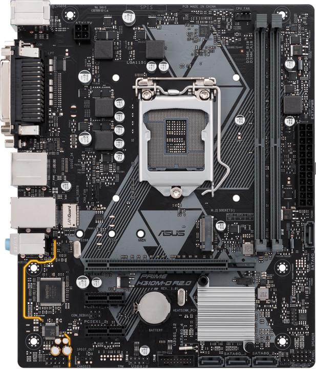 ASUS PRIME H310M-D R2.0 - Intel H310