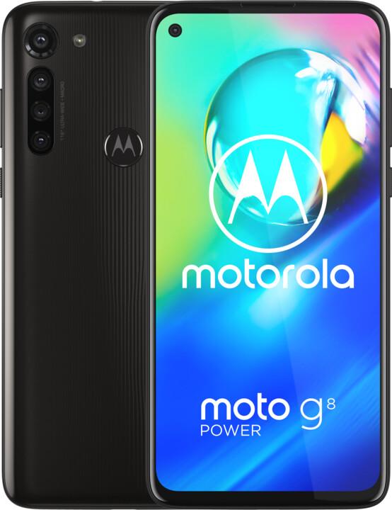 Motorola Moto G8 Power, 4GB/64GB, Smoke Black