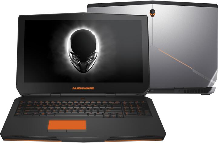 Dell Alienware 17 R3, stříbrná