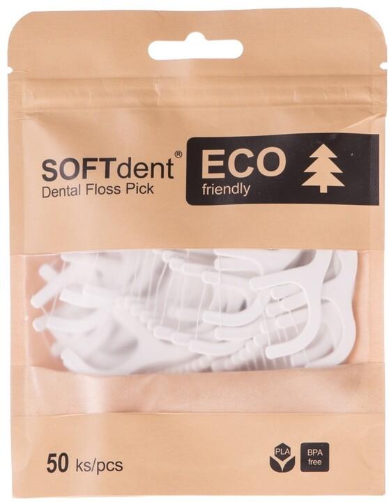 Dentální párátka SOFTdent ECO, 50 ks