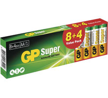 GP Super LR6 alkalická baterie (AA) 8+4ks - 1013200123