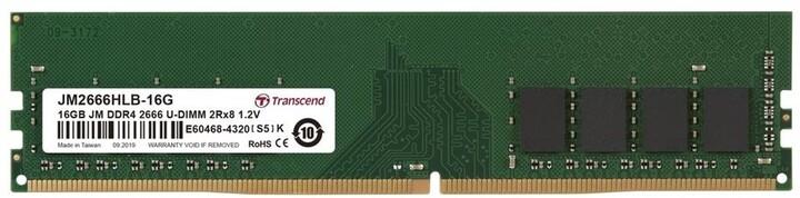 Transcend 16GB DDR4 2666 CL19