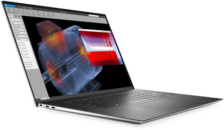 Dell Precision (5750), šedá