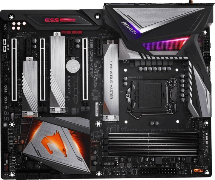 GIGABYTE Z390 AORUS MASTER - Intel Z390