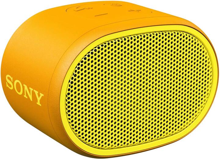 Sony SRS-XB01, žlutá