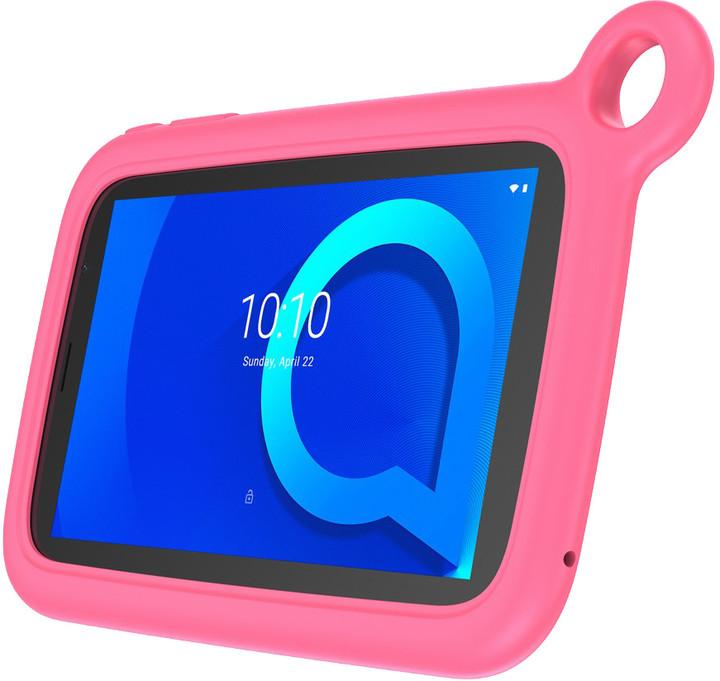 Alcatel 1T 7 KIDS, 1GB/8GB, růžový bumper