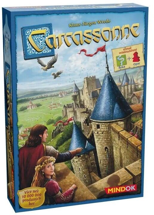 Desková hra Carcassonne