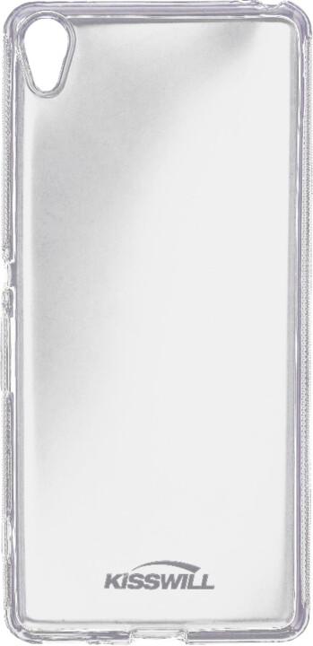 Kisswill pouzdro pro Sony F3311 Xperia E5, transparentní