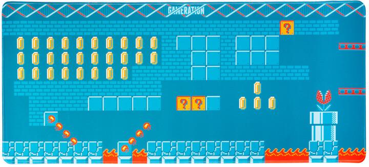 Podložka pod myš Gameration, XL, herní, látková