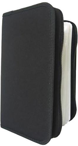 Cover It box-pouzdro:128 CD zapínací černé