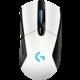 Logitech G703 Lightspeed, bílá  + Podložka pod myš CZC G-Vision Dark v ceně 199,-