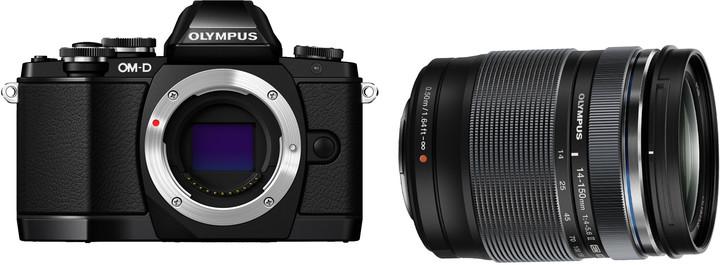 Olympus E-M10 + 14-150 mm II černá/černá