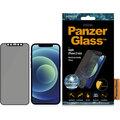 """PanzerGlass ochranné sklo Edge-to-Edge Privacy pro Apple iPhone 12 Mini 5.4"""", 0.4mm, černá antibakteriální"""