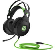 HP Pavilion Gaming 600, černá/zelená - 4BX33AA#ABB