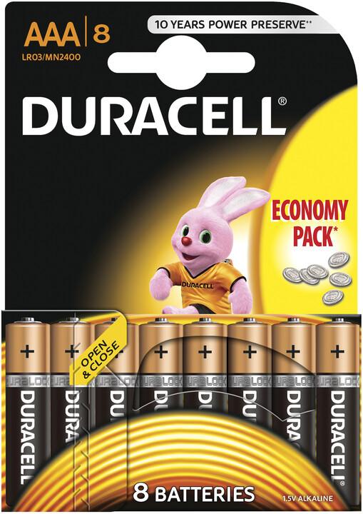 Duracell Basic AAA 2400 K8 Duralock