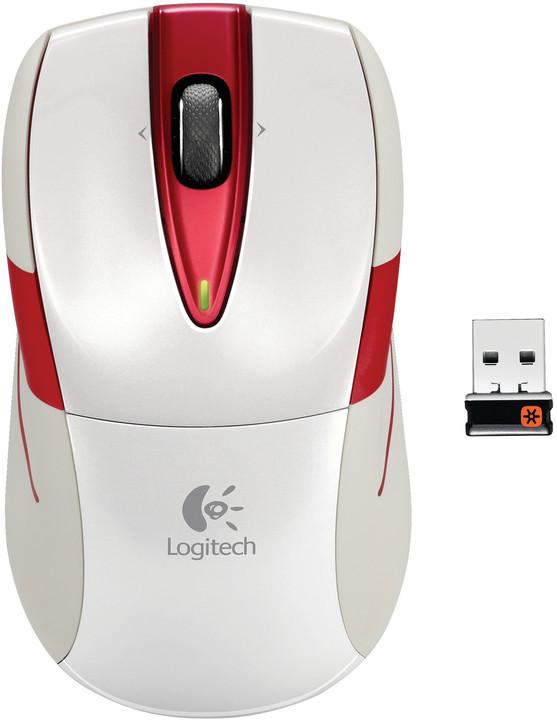 Logitech Wireless Mouse M525, bílá