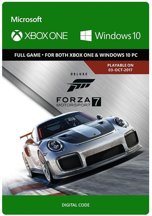 Forza Motorsport 7: Deluxe Edition (Xbox Play Anywhere) - elektronicky