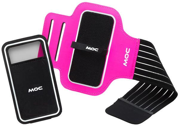 MOC Sport Armband + Slip in phone bag XL, cerise