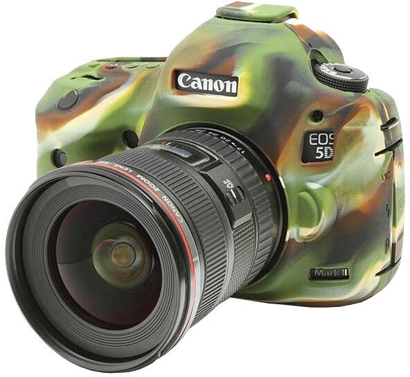 Easy Cover silikonový obal pro Canon 5D MARK II, maskáčová