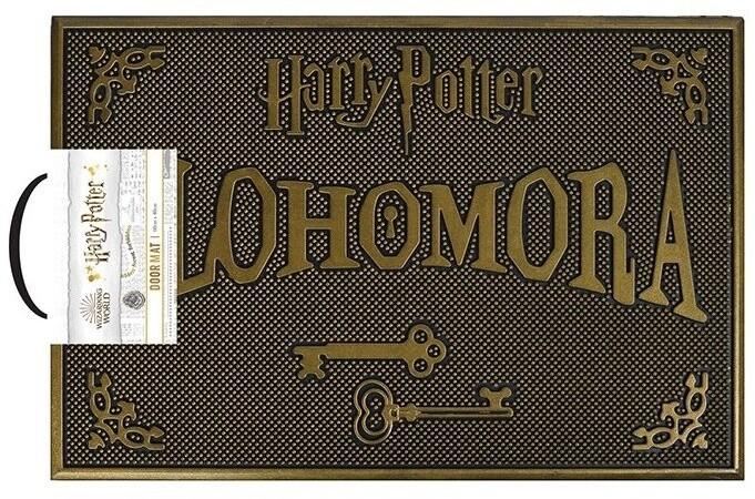 Rohožka Harry Potter - Alohomora, gumová
