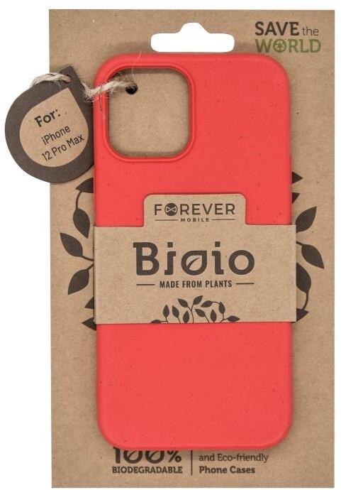 """FOREVER zadní kryt Bioio pro iPhone 12 Pro Max (6.7""""), červená"""