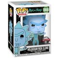 Figurka Funko POP! Rick and Morty - Hologram Rick Protes
