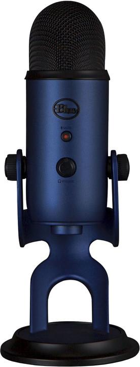 Blue Microphones Yeti, půlnočně modrý