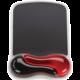 Kensington ergonomická gelová podložka pod myš Duo - červená