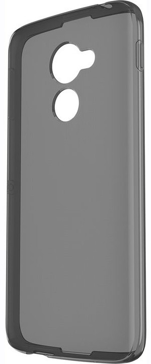 BlackBerry shell kryt pro BlackBerry DTEK60, černá průsvitná