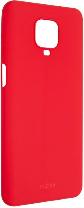 FIXED Story zadní pogumovaný kryt pro Xiaomi Redmi Note 9 Pro, červená