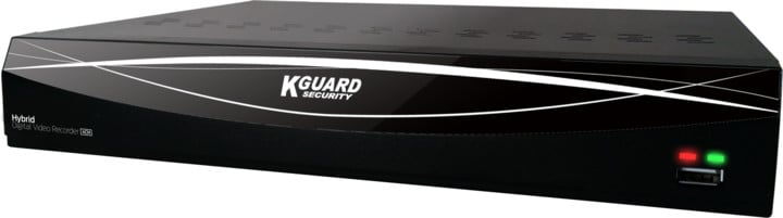 KGUARD hybridní rekordér HD481, 4+2 (CCTV+IP) kanálový