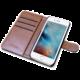 CELLY Wally pouzdro typu kniha pro Apple iPhone 7 Plus, PU kůže, černá