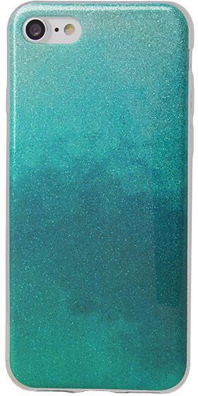 EPICO pouzdro pro iPhone 7/8 GRADIENT RAINBOW - turquoise