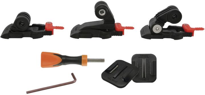 Rollei sada držáků pro kamery GoPro a ROLLEI/ Safety pad technologie