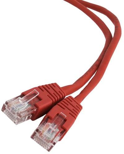 Gembird Cablexpert Patch kabel UTP c5e - 3m - červená