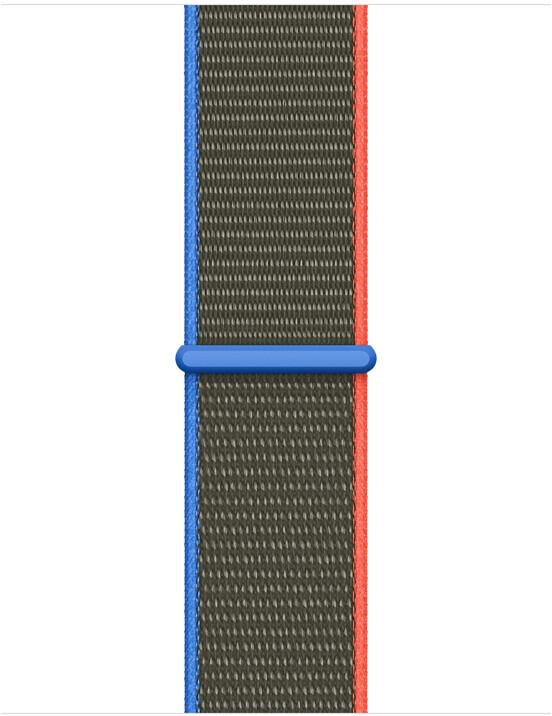Apple řemínek pro Watch Series, provlékací, sportovní, 40mm, olivová