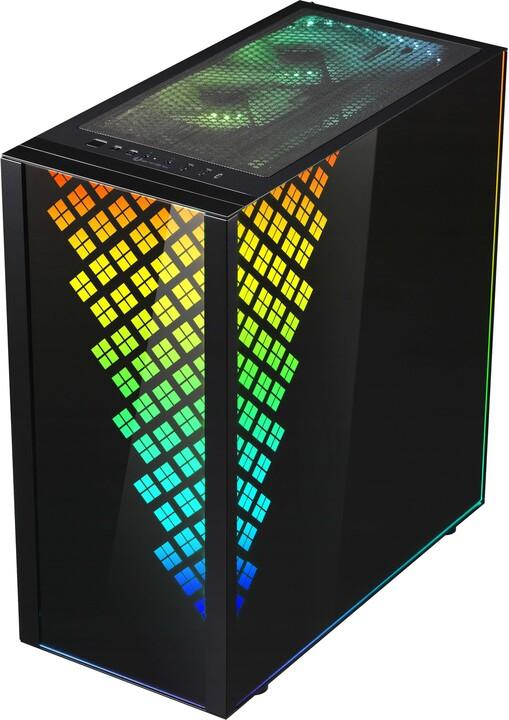 BITFENIX Dawn TG A-RGB, TG, černá
