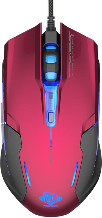 E-Blue Auroza G, červená