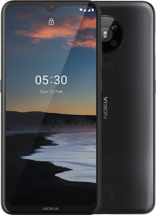 Nokia 5.3, 3GB/64GB, Dual SIM, Charcoal