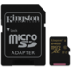 Kingston Micro SDXC 64GB UHS-I U3 + SD adaptér