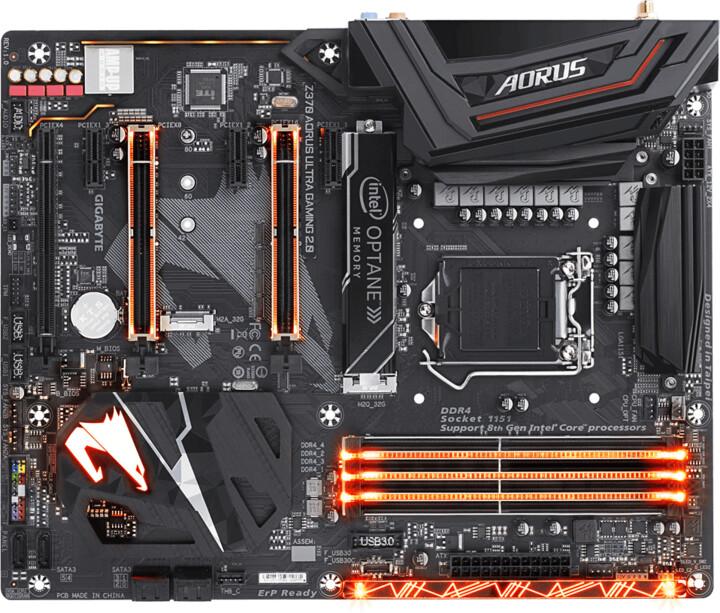 GIGABYTE Z370 Aorus Ultra Gaming 2.0-OP - Intel Z370