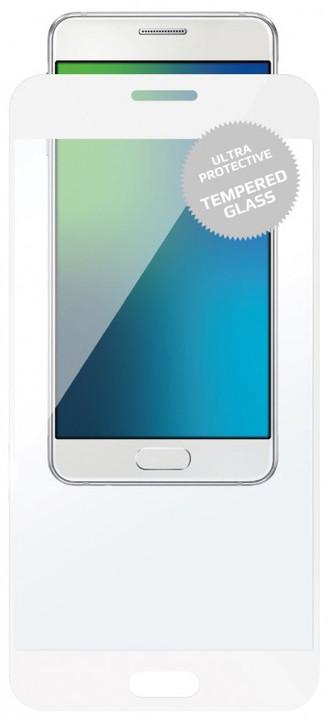 FIXED Full-Cover ochranné tvrzené sklo pro Motorola Moto G5S, přes celý displej, bílé