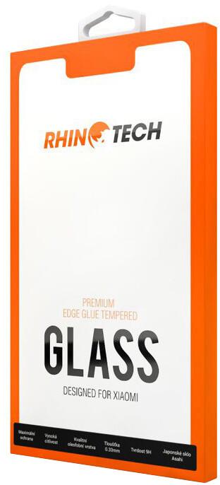 RhinoTech 2 tvrzené ochranné 2.5D sklo pro Xiaomi Redmi 8A (Edge Glue), černá