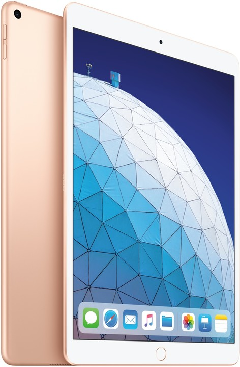 Apple iPad Air, 256GB, Wi-Fi, zlatá, 2019