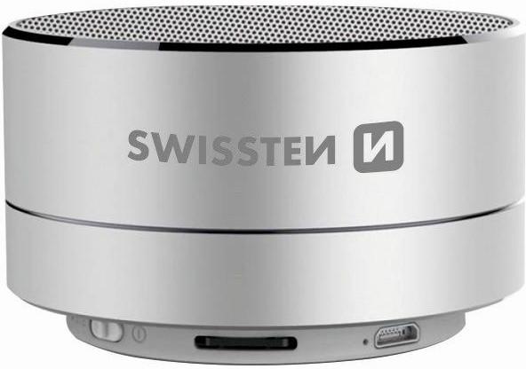 SWISSTEN i-METAL, stříbrná