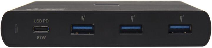 MAX MWC6400B síťová nabíječka 90W se 4 výstupy - 1x USB-C PowerDelivery + 3x USB-A QC 3.0